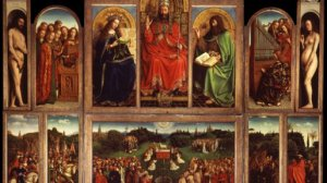 THE TEMPTATION OF REALITY – The Mystic Lamb of the Van Eyck brothers